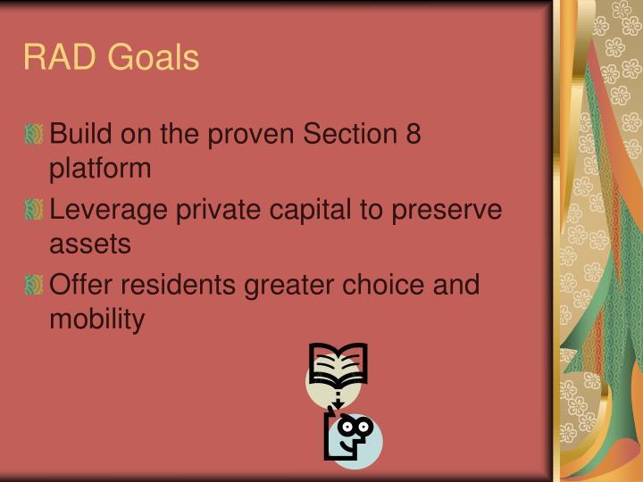 RAD Goals