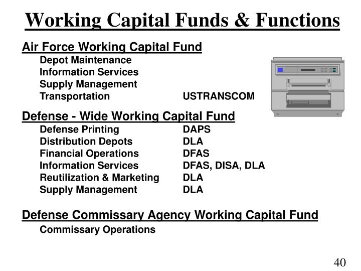 Working Capital Funds & Functions