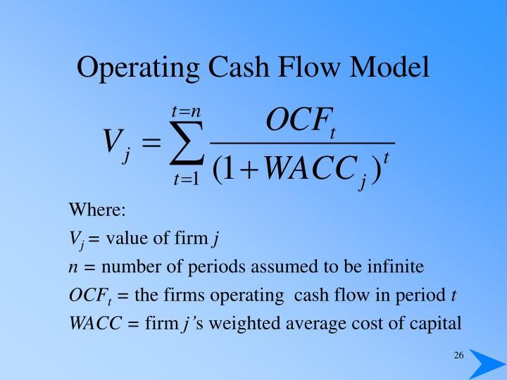 Operating Cash Flow Model
