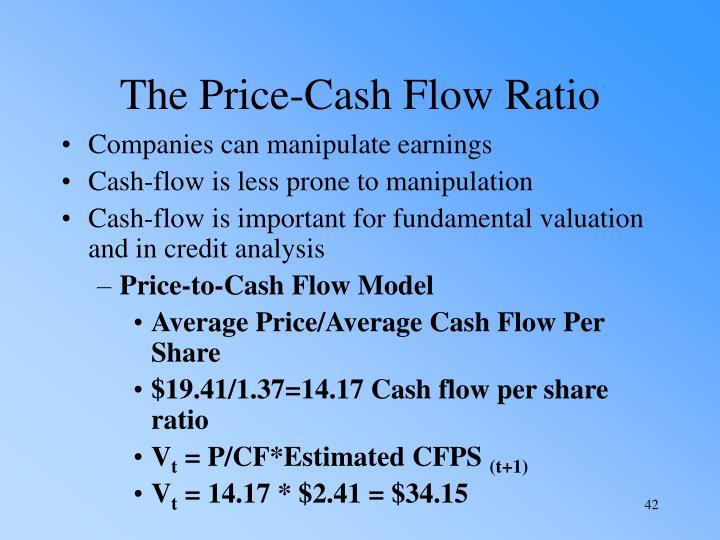 The Price-Cash Flow Ratio