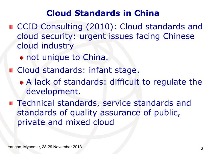 Cloud Standards in China