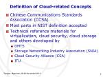 definition of cloud related concepts