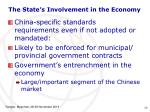 the state s involvement in the economy