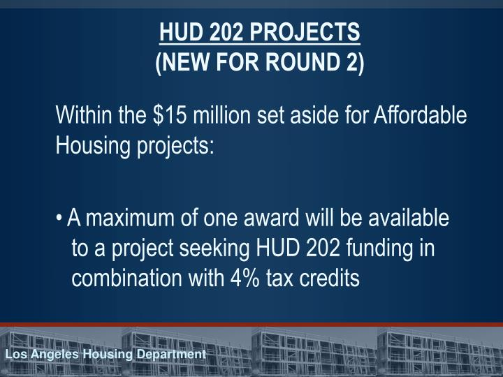 HUD 202 PROJECTS