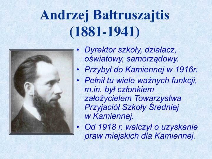 Andrzej Bałtruszajtis
