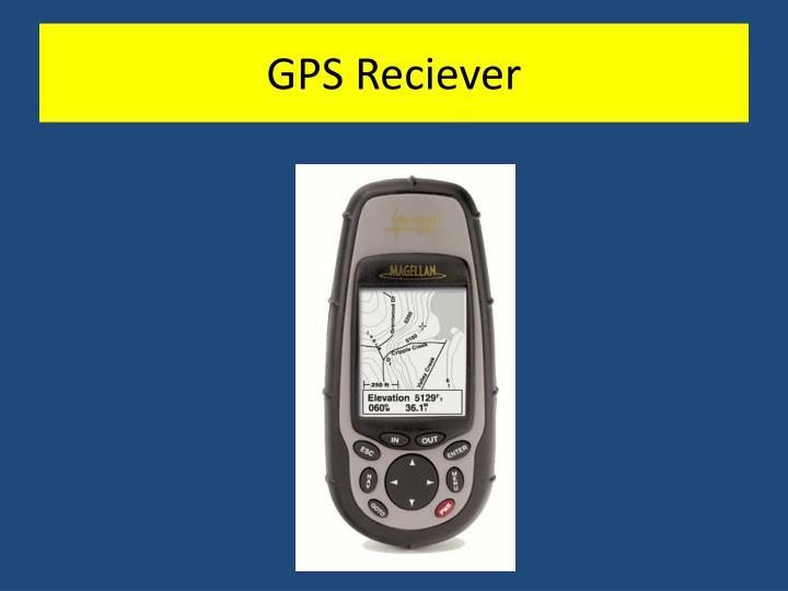 GPS Reciever