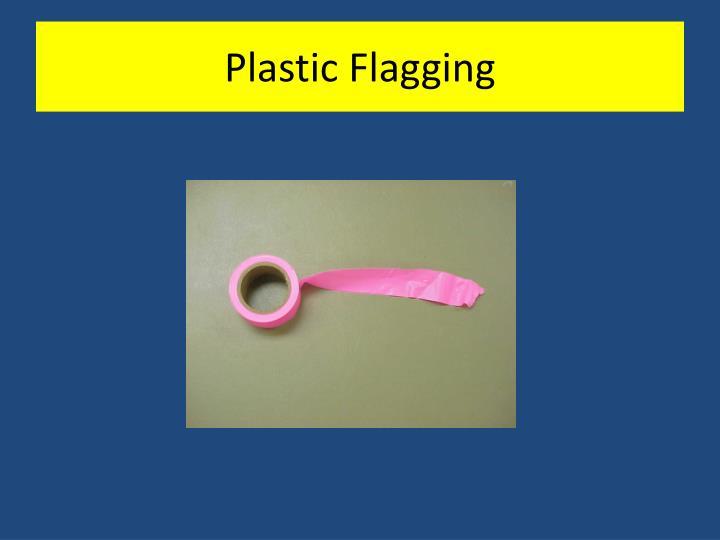 Plastic Flagging