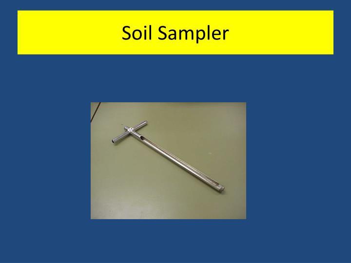 Soil Sampler