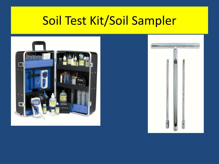 Soil Test Kit/Soil Sampler