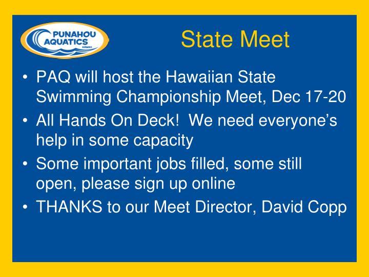 State Meet