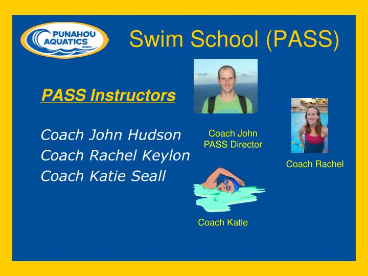 Swim School (PASS)