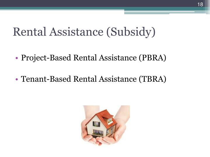 Rental Assistance (Subsidy)