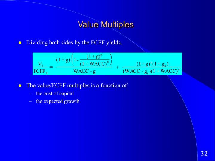 Value Multiples