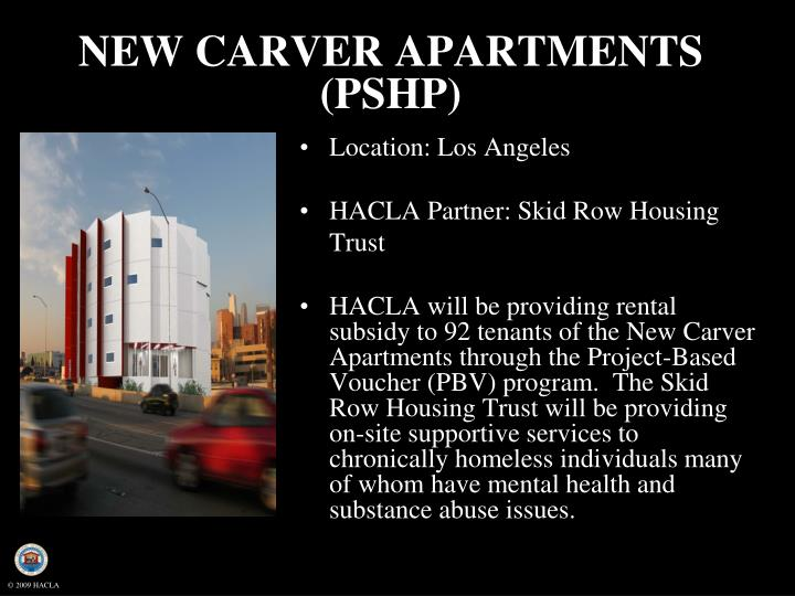NEW CARVER APARTMENTS (PSHP)