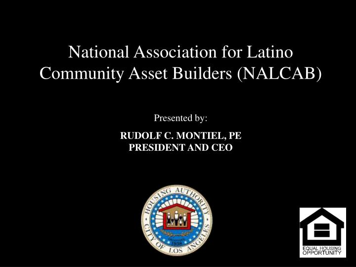 National Association for Latino Community Asset Builders (NALCAB)