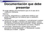 documentaci n que debe presentar1