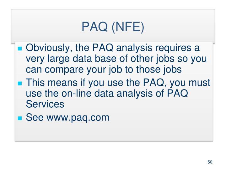 PAQ (NFE)