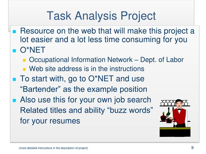 Task Analysis Project