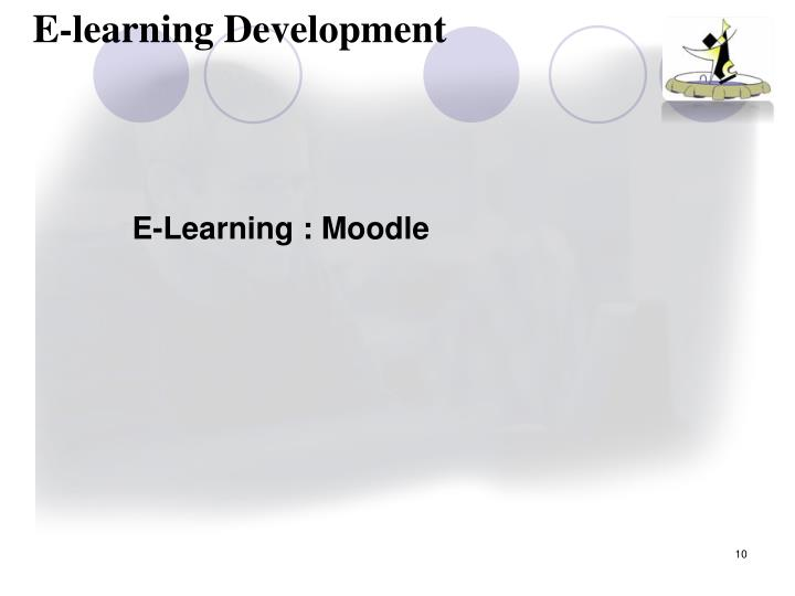 E-learning Development