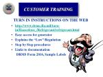 turn in instructions on the web