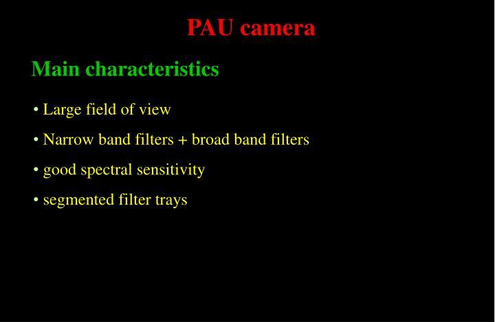PAU camera