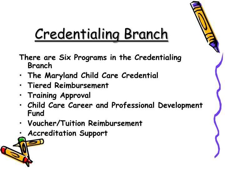 Credentialing Branch