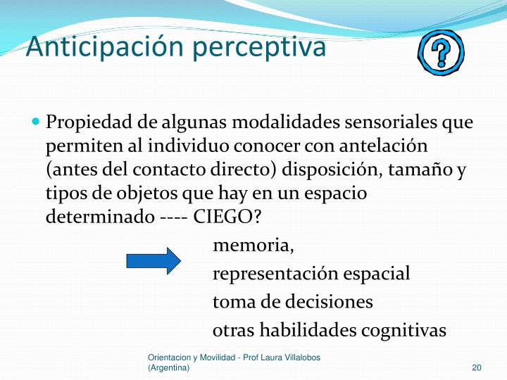 Anticipación perceptiva