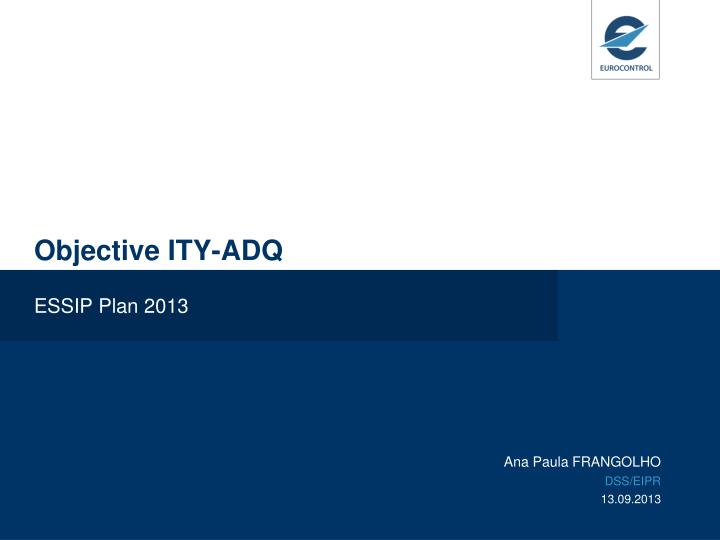 Objective ity adq