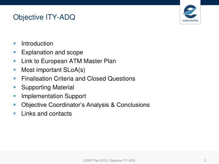 Objective ity adq1