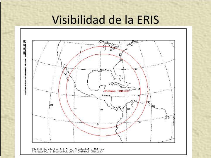 Visibilidad de la ERIS