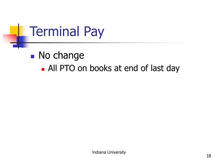 Terminal Pay
