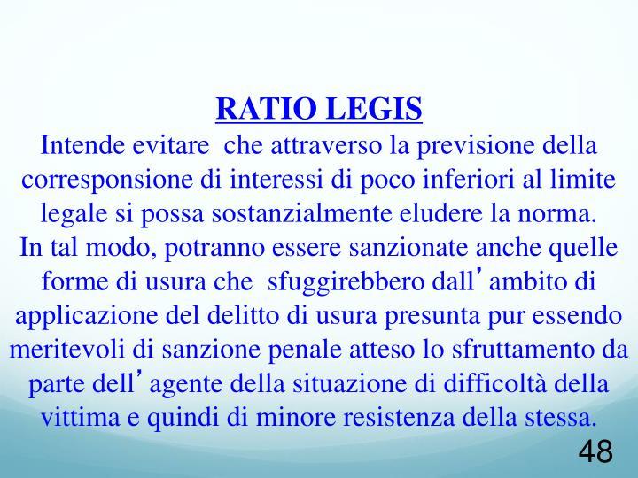 RATIO LEGIS