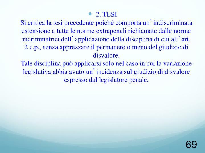 2. TESI