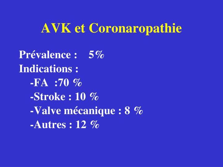 AVK et Coronaropathie