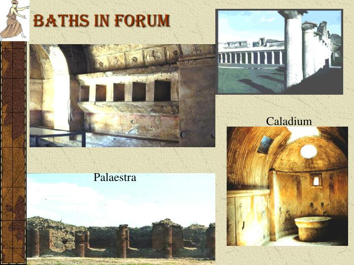 Baths in Forum