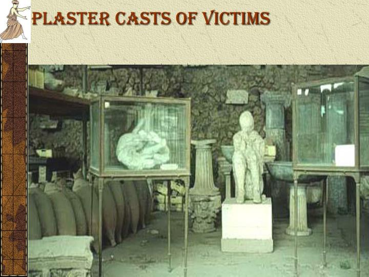 Plaster Casts of Victims