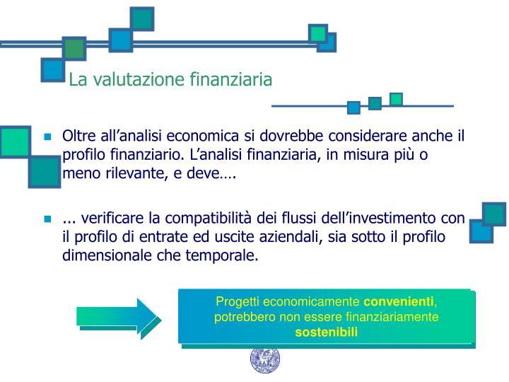 Progetti economicamente