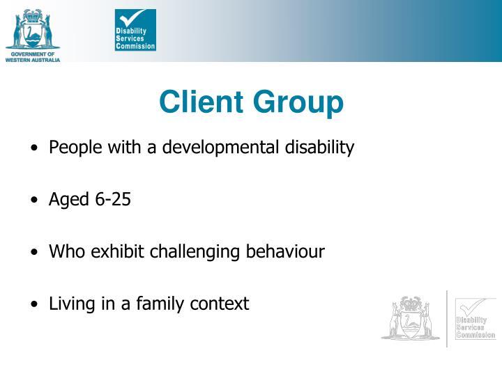 Client Group