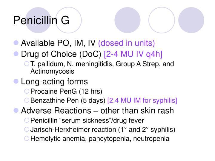 Penicillin G