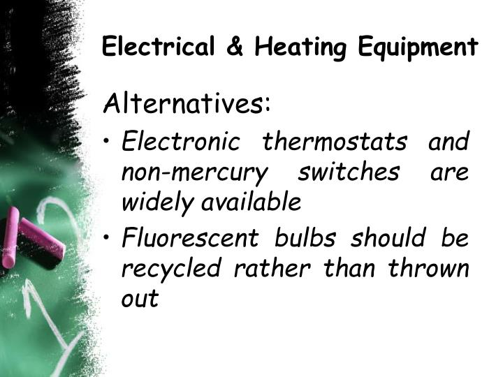 Electrical & Heating Equipment