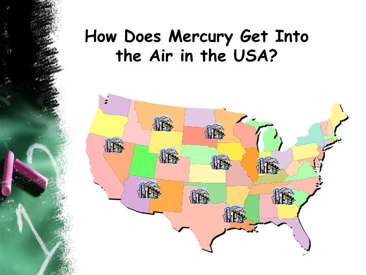How Does Mercury Get Into the Air in the USA?