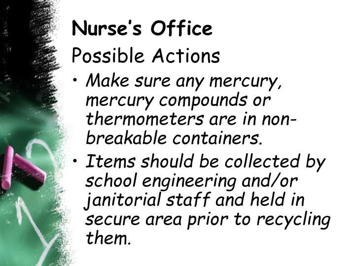 Nurse's Office