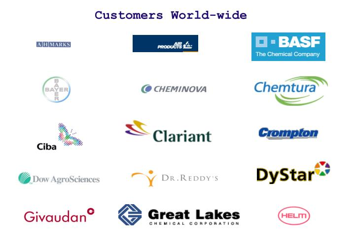 Customers World-wide