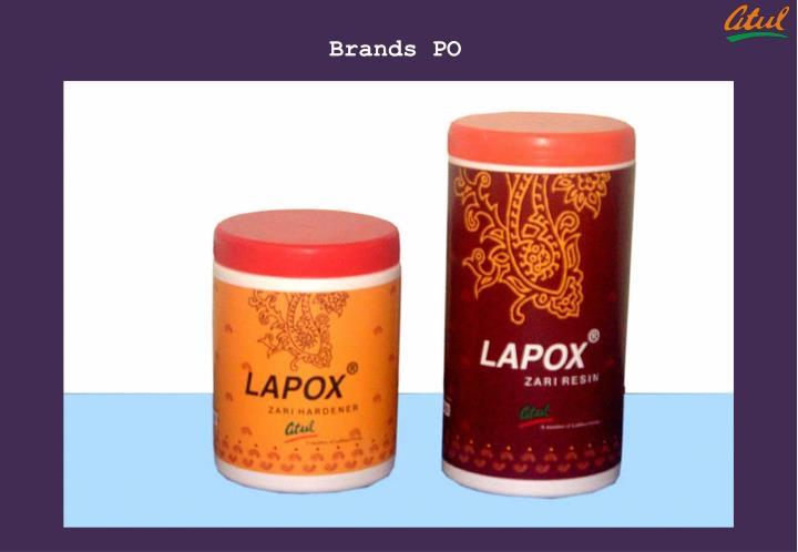 Brands PO