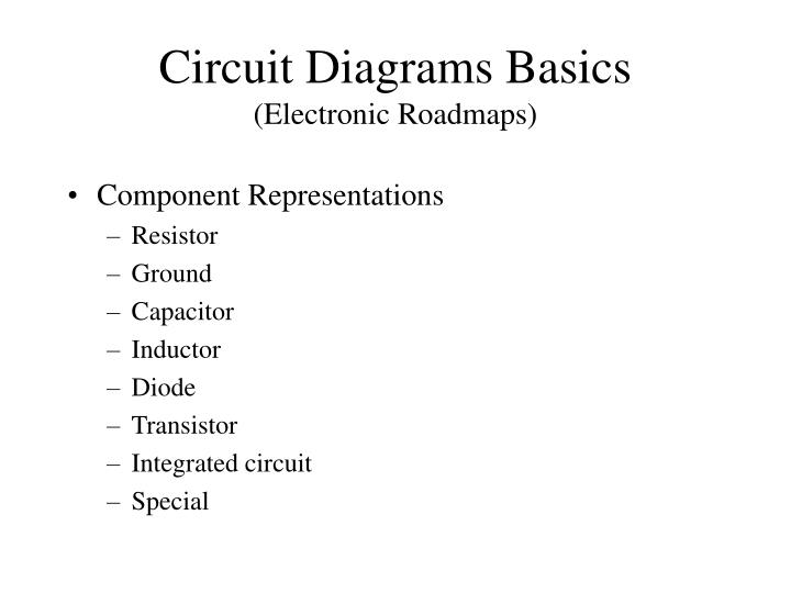 Circuit Diagrams Basics