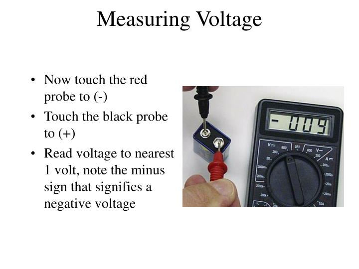 Measuring Voltage
