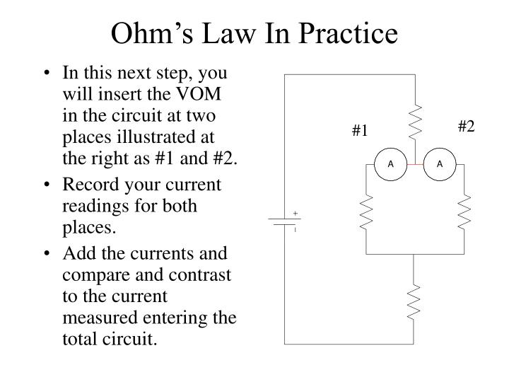 Ohm's Law In Practice