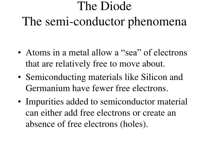 The Diode