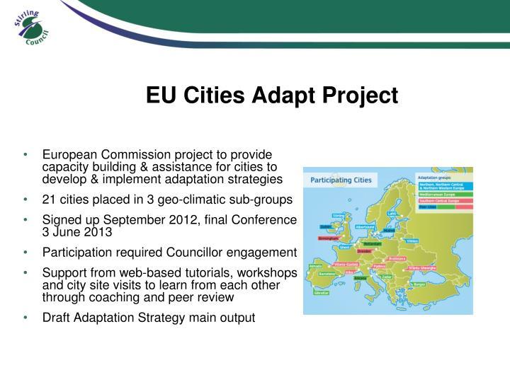 EU Cities Adapt Project