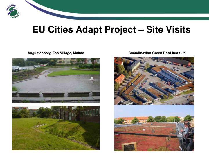 EU Cities Adapt Project – Site Visits
